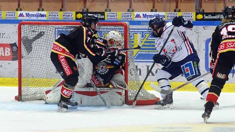 Luleå Hockey/MSSK mot Linköping. Foto: Alf Lindbergh/Pressbilder.