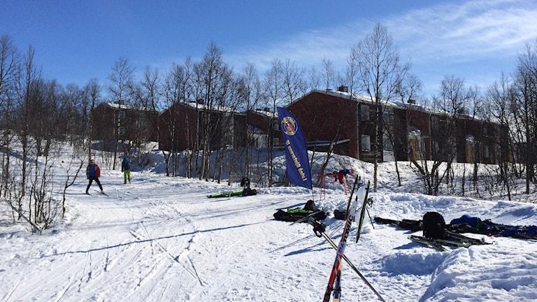 STF anläggning i Kiruna. Foto: STF Kiruna.