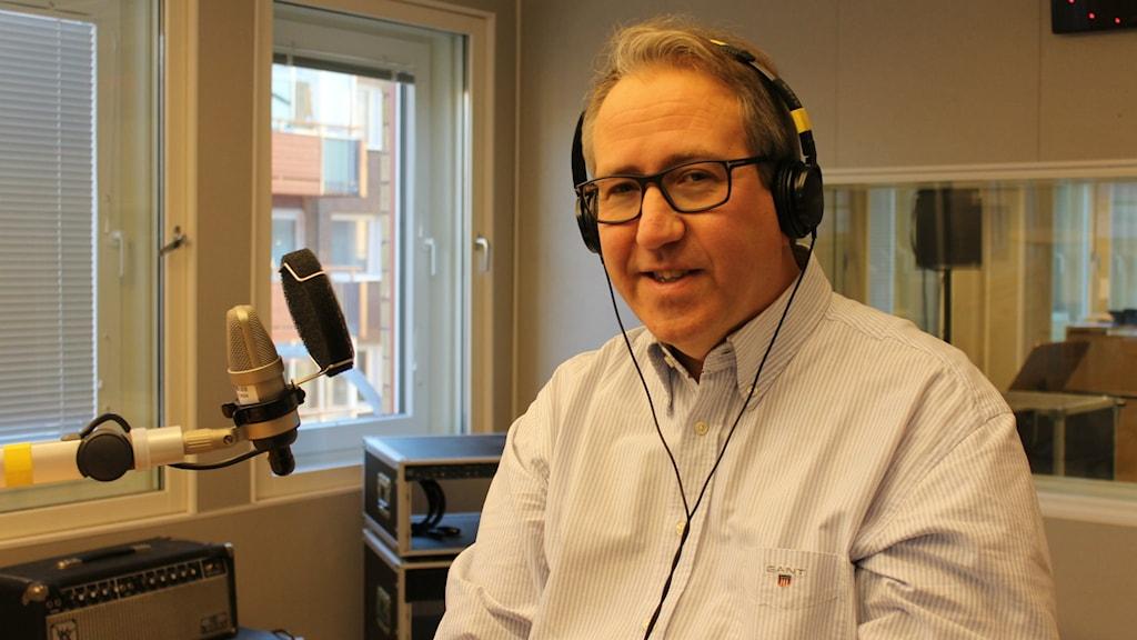 Niklas Lundgren, advokat. Foto: Fanny Bergvall/Sveriges Radio.