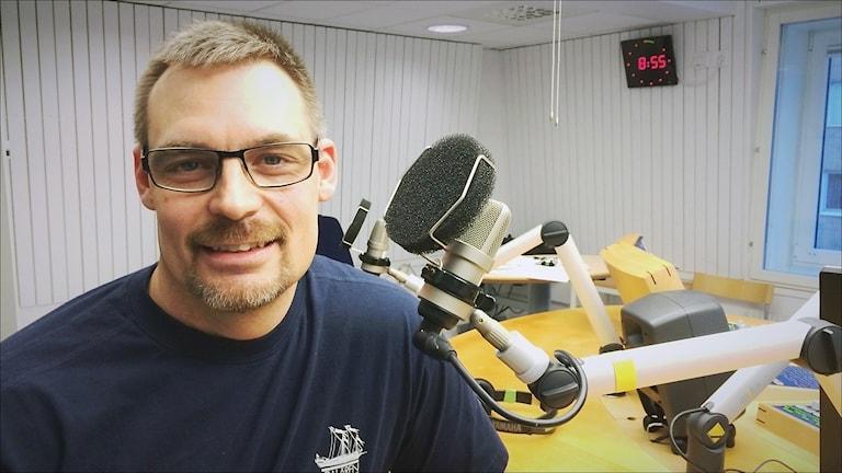 Fredrik Kenttä. Foto: Anna Lidé / Sveriges Radio.