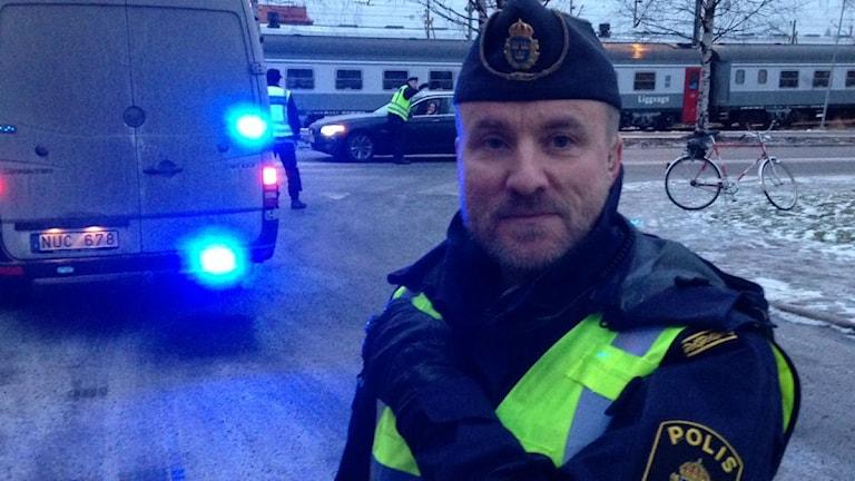 Polisinspektör Jan Lundmark