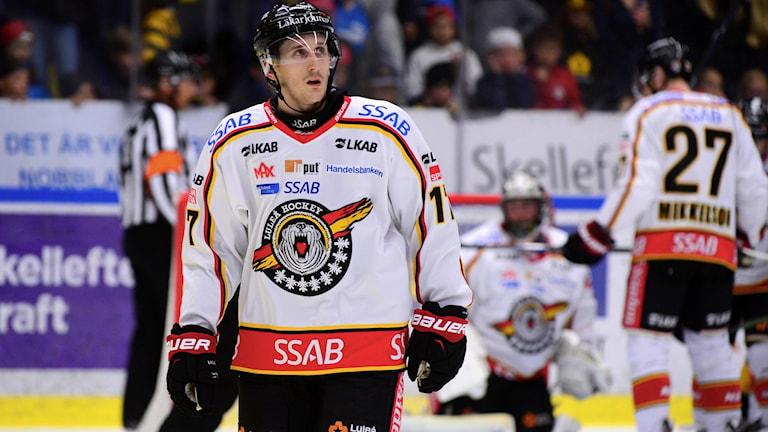 Luleå Hockeys Bill Sweatt. Foto: Robert Granström/TT.