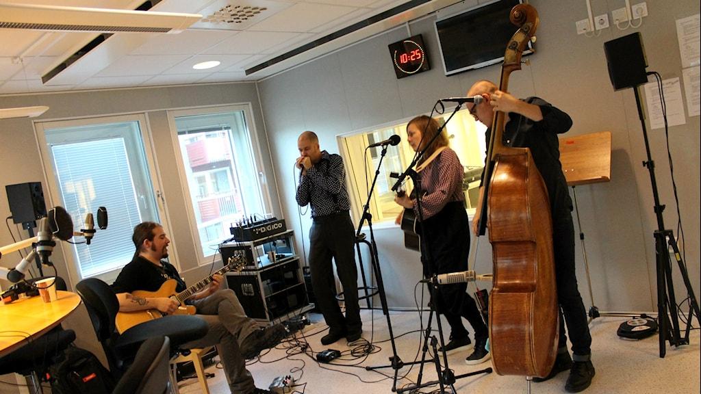 John Henry. Foto: Fanny Bergvall/Sveriges Radio.