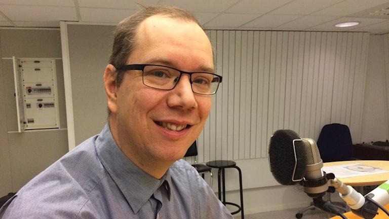 Peter Bergström. Foto: Tova Nilsson/Sveriges Radio.