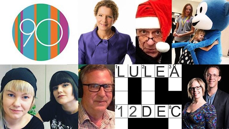 Sveriges Radio firar 90 år i Luleå 12 december 2015.
