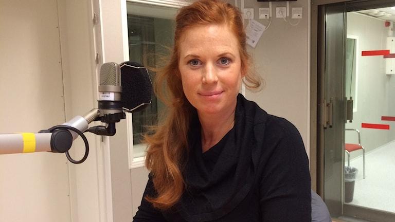 Therése Lindberg. Foto: André Pettersson/Sveriges Radio.