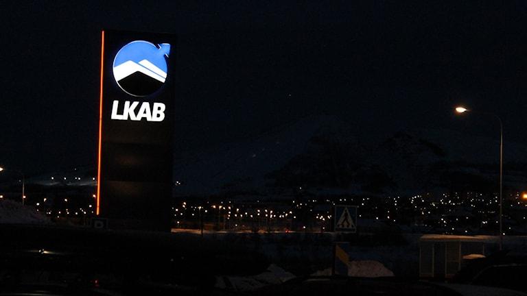 Gruvbolaget LKAB har ökat sina koldioxidutsläpp sedan 1990. Samtidigt har produktionen ökat ännu mer. Foto: Alexander Linder/ Sveriges Radio.