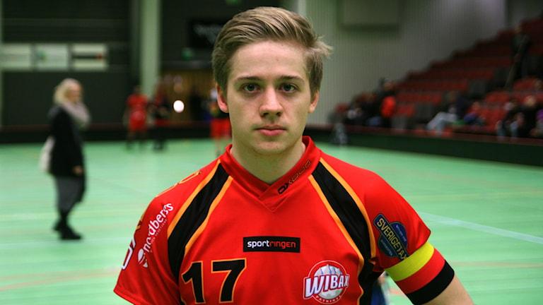 Wibax Piteås Erik Nilsson. Foto: Niclas Åkerström/Sveriges Radio.