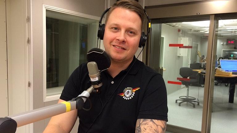Fredrik Glader. Foto: André Pettersson/Sveriges Radio.