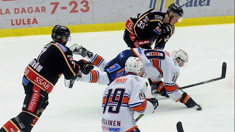 Luleå Hockey mot Växjö. Foto: Alf Lindbergh/Pressbilder.