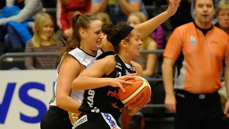 Luleå Baskets Sofie Hendrickx. Foto Alf Lindbergh pressbilder AB