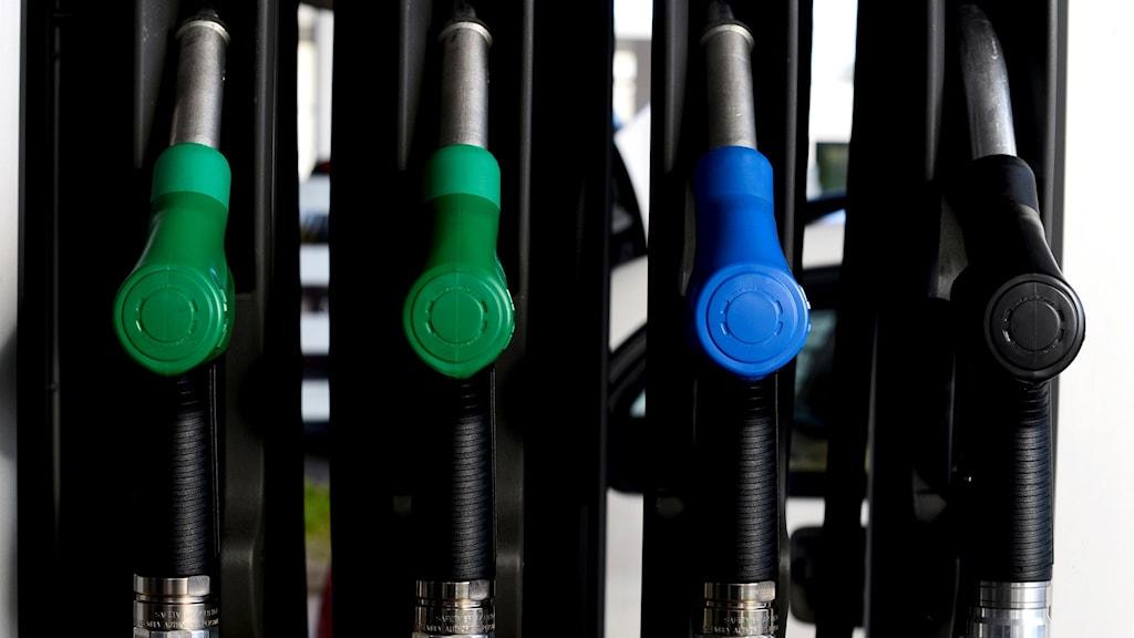 Bränslepumpar. Foto: Pontus Lundahl/TT
