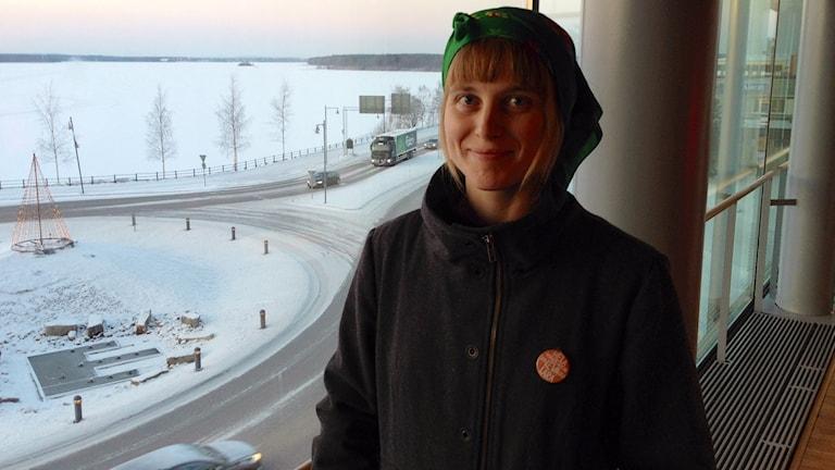 Liv Shange, engagerad förälder. Foto: David Ohlsson/Sveriges Radio