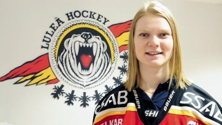 Mira Jalosuo. Foto: Luleå hockey.