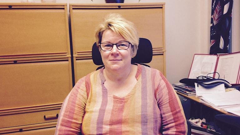 Jeanette Everos, kostchef Luleås skolor