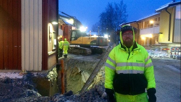 Jakob Thörnqvist, markarbetare