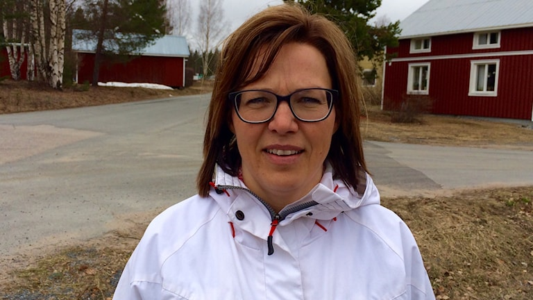 Jenny Engström jobbar på den ekonomiska föreningen RÅEK, som ibland fungerar som Bodens kommuns förlängda arm. Foto: Samed Salman/Sveriges Radio
