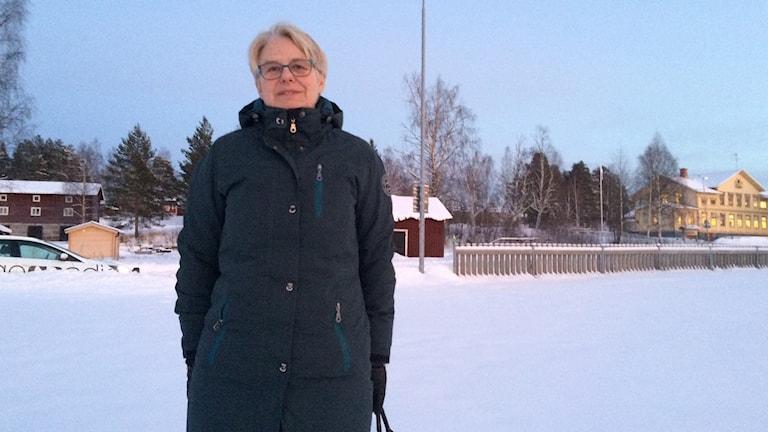 Helena Öhlund (S). Foto: Marcus Nilsson/Sveriges Radio
