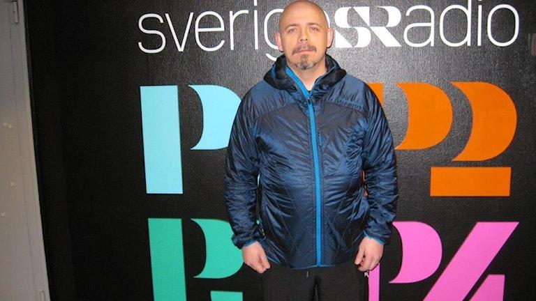 Jörgen Andersson, sportansvarig Luleå Damfotboll. Foto: Peter Sundkvist/Sveriges Radio.