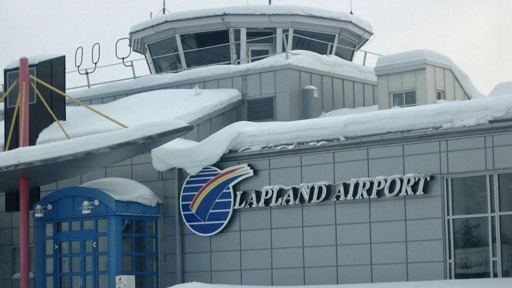 Gällivare flygplats. Foto: Reine Sundqvist/Sveriges Radio.