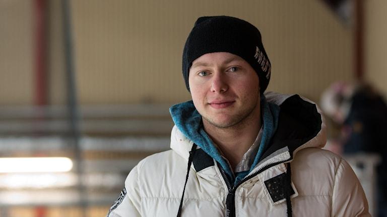 Alexander Majorov känner att formen är tillbaka efter benmärgsdonationen i november. Foto: Per Vallgårda, Sveriges Radio