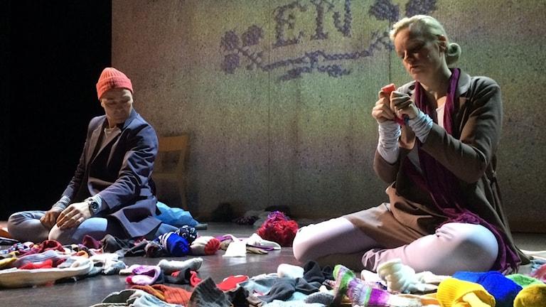 Bäst före, en pjäs om kärlek, har premiär i vår. Foto: Lena Callne/Sveriges Radio.