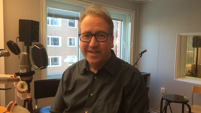 Niklas Lundgren. Foto: Anneli Lindbäck/Sveriges Radio