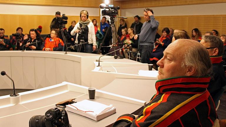 Domen meddelades i Gällivare tingsrätt. Foto: Alexander Linder/ Sveriges Radio.