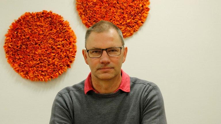Sven Nordlund, ordförande i utbildningsnämnden i Kalix. Foto: Emil Larsson/ Sveriges Radio.