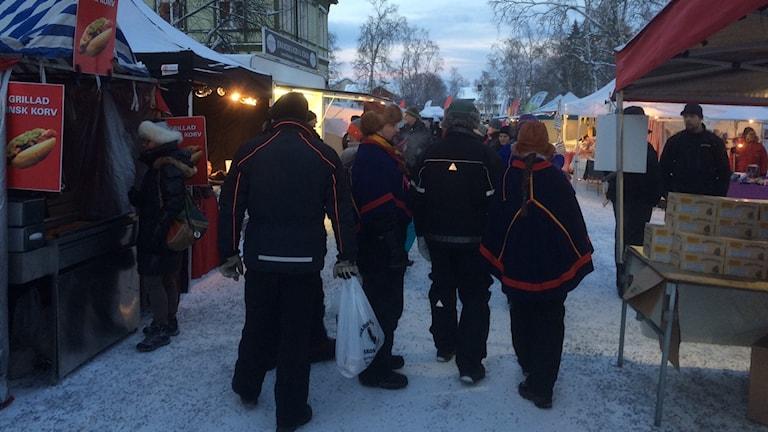 Jokkmokks marknad 2016.