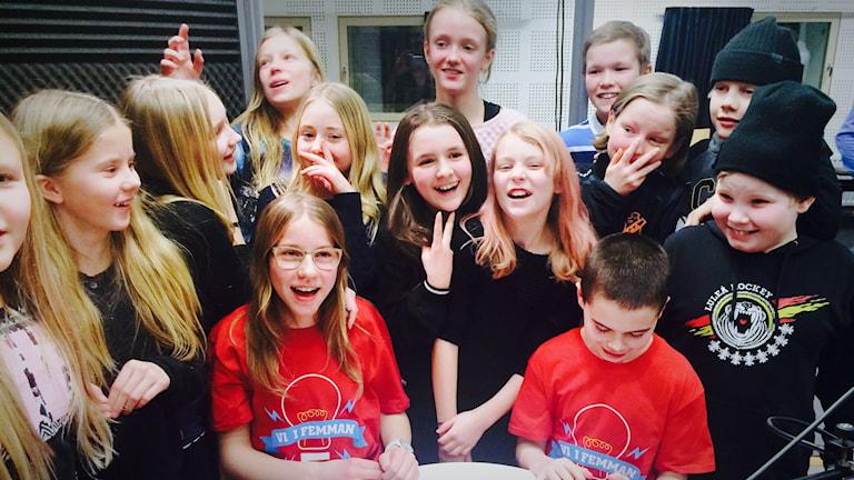 Vi i femman 2016: Benzeliusskolan vann semifinalen.