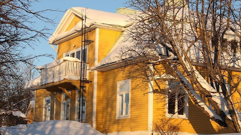 Länsmansbostaden i Kiruna ska flyttas österut.