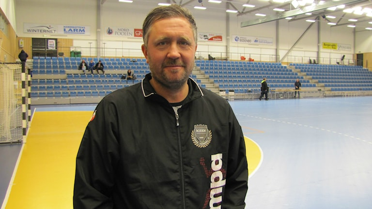 Tidigare förbundskaptenen Per Johansson i Boden Handboll.