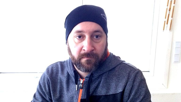 Anders Marklund driver Camp Gauto i, i Arjeplogs fjällvärld.