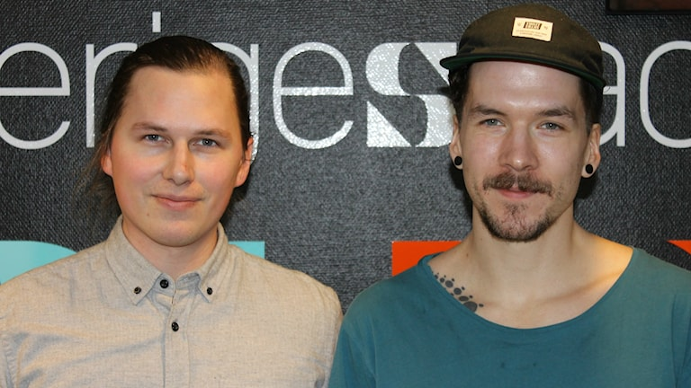 Rookie-äventyraren Linus Adolfsson från Lycksele och Filmaren Jimmy Sundin från Luleå.
