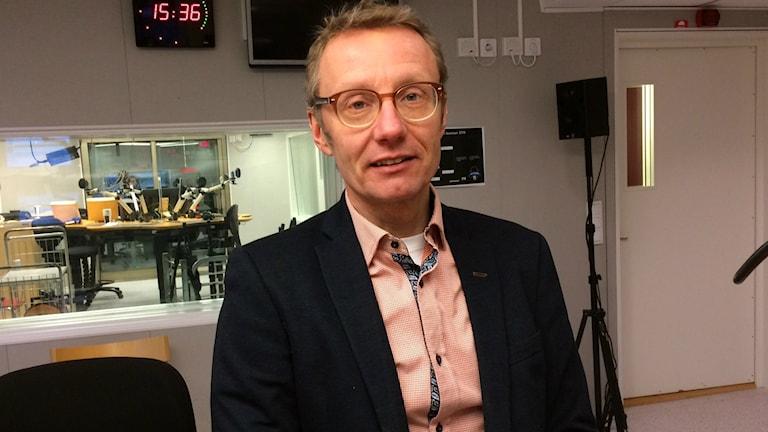 Professor Bjarne Bergqvist vid LTU.
