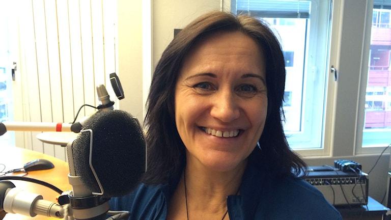 Liv Larsson, författare, medlare och föreläsare - bland annat. Foto: Ann-Christine Wallner-Hoppe/Sveriges Radio.