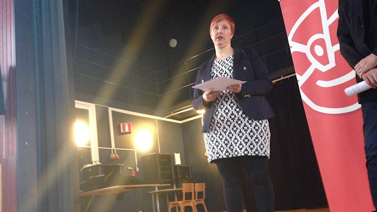 Barn- och utbildningsnämndens ordförande Carina Sammeli (S).