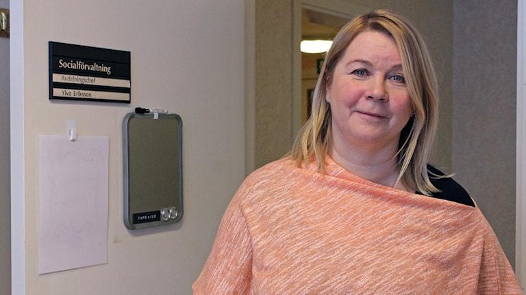 Ylva Eriksson är avdelningschef för Kiruna kommuns äldreboenden.