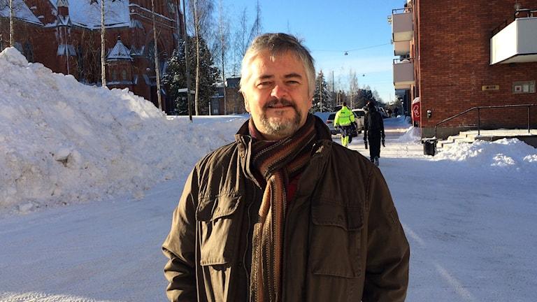 Anders Nystedt, smittskyddsläkare i Norrbotten.