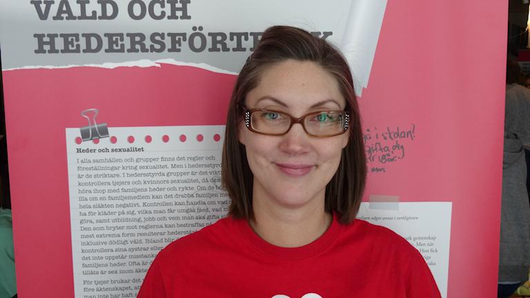 Maria Sundvall Taavo är delprojektledare hos Rädda Barnen.