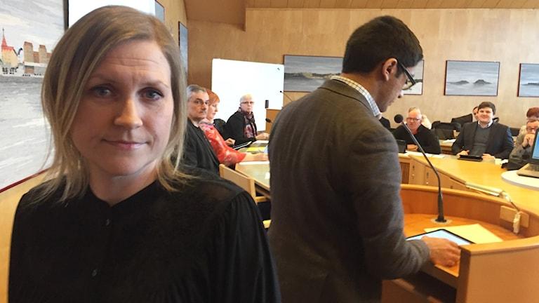 Anna Sandsten, förälder i Luleå