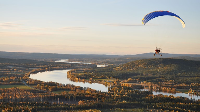 Paramotorflygning. Foto: Skybase