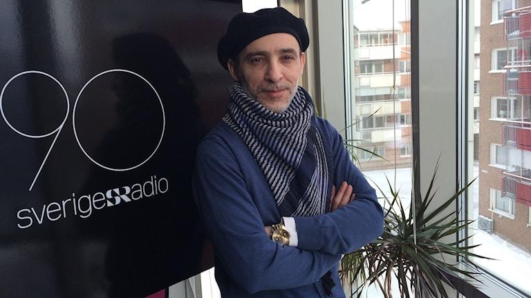 Dokumentärfilmaren Maher Abdel Aziz.