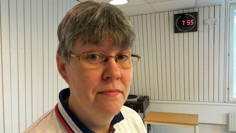 Monika Jonsson, medlem Älvsbyns forskarförening.