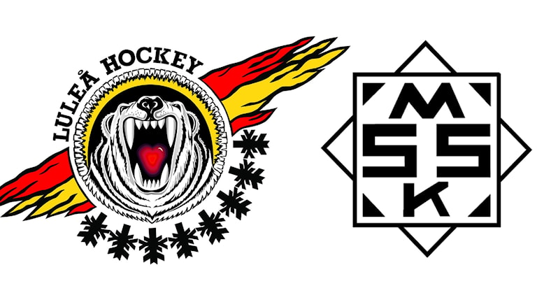 Luleå Hockey/MSSK klubbmärke.