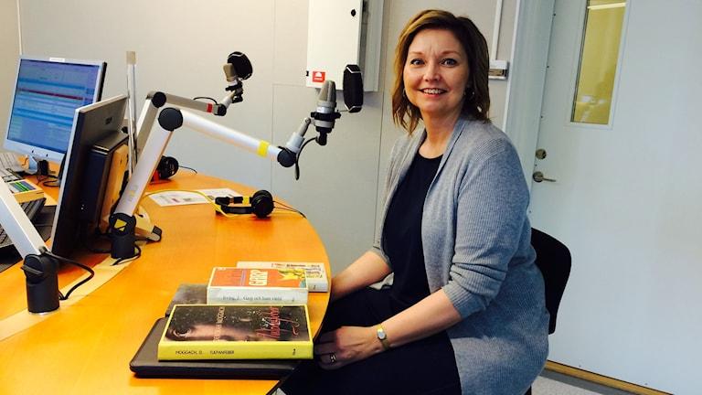 Kristina Englund bibliotekspedagog Piteå stadsbibliotek