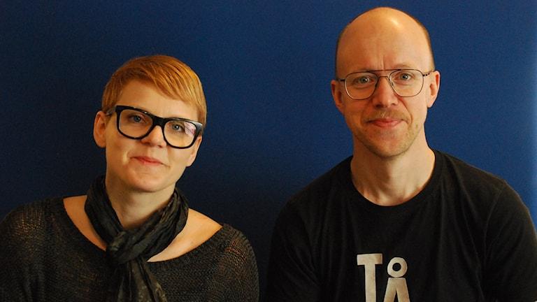 Johanna Hövenmark och Bo Torbjörn Ek.