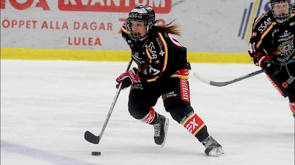 Match mellan Luleå/MSSK och Brynäs i damernas SM-slutspel i ishockey.