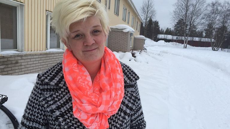 Sara Eriksson, medlem i föreningen Attention